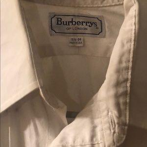 Burberry White Button down shirt 15 1/2-34